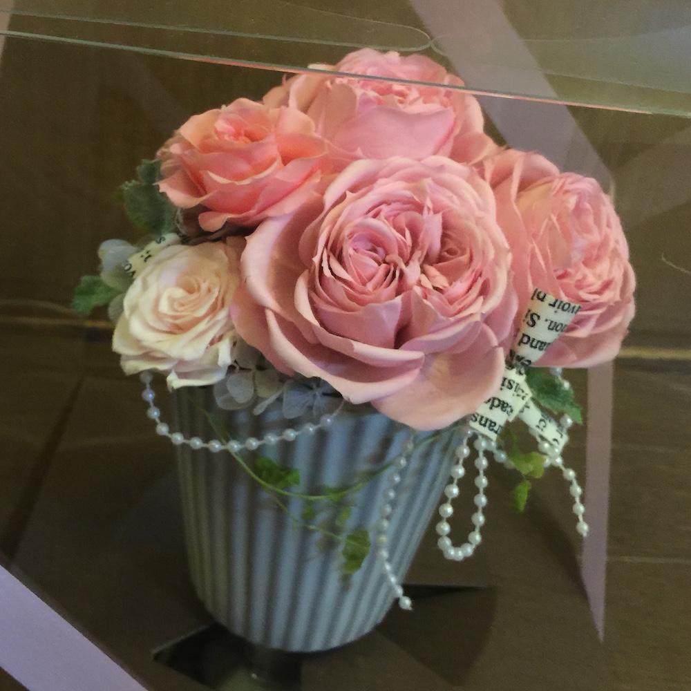 Tくんのお母様から頂いたお花です