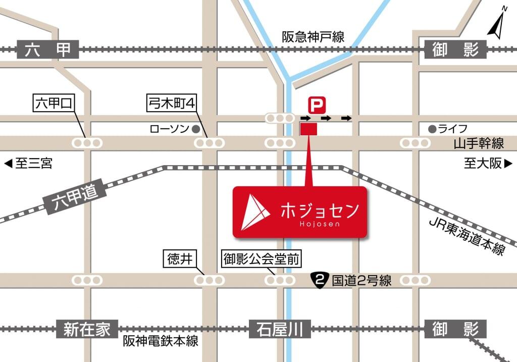ホジョセン地図