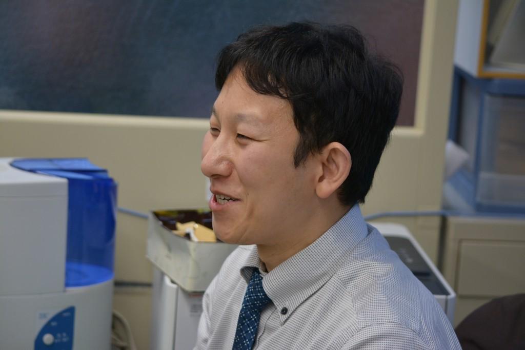日本将棋連盟事業部道場課の高橋さん