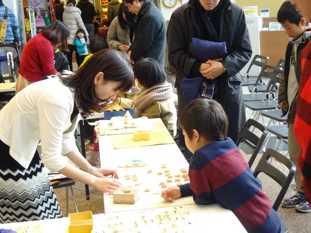 駒を自由に動かして将棋を楽しむことが大切。