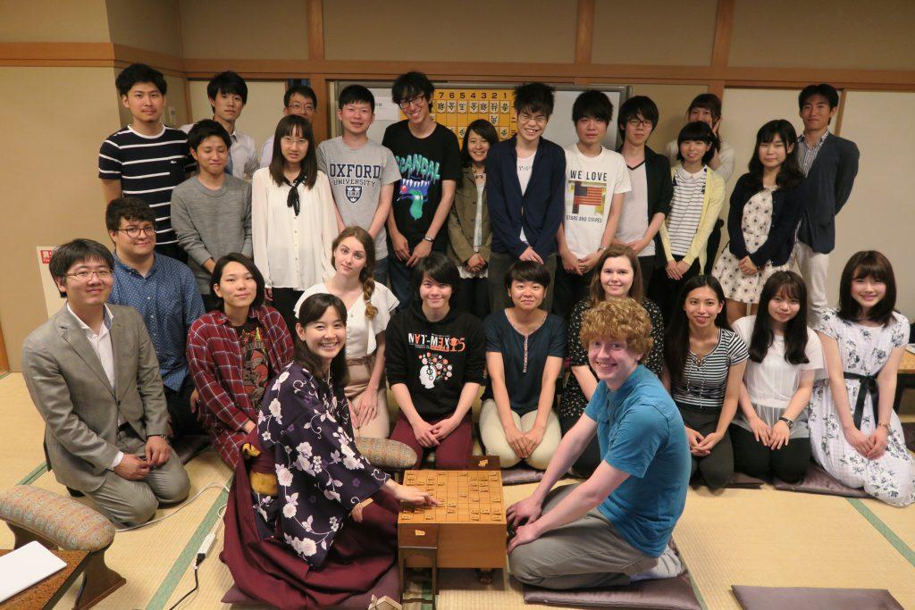 日本伝統文化の将棋を通じて国際交流