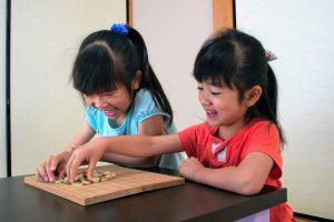 将棋は日本伝統の木製玩具