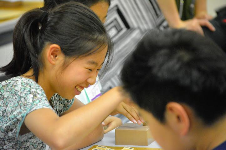 将棋イベントでも女の子がたくさん参加してくれます。
