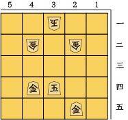 5×5この局面でスタート