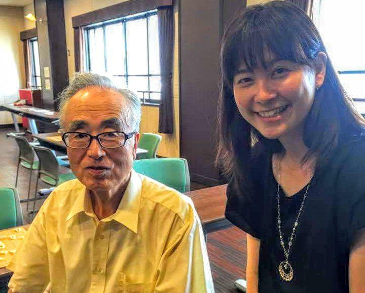 プロ棋士として大先輩である内藤先生とお話しできてとても光栄でした。