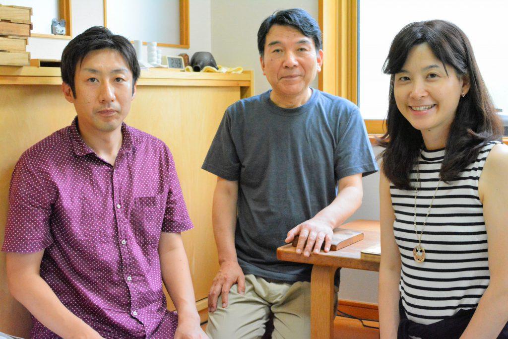掬水こと桜井和男さんと淘水こと桜井亮さんにお話しを伺いました。