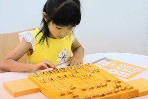 動かし方の書いてない二文字駒に慣れるまで、早見表をおいて練習しよう