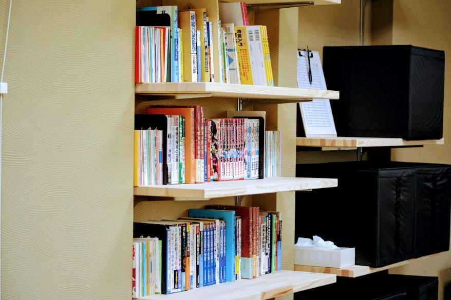 学生のために図書館を設置