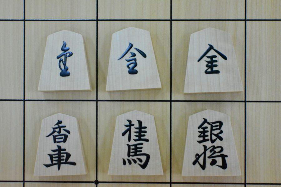 子ども将棋大会でも崩し字の駒が使われます