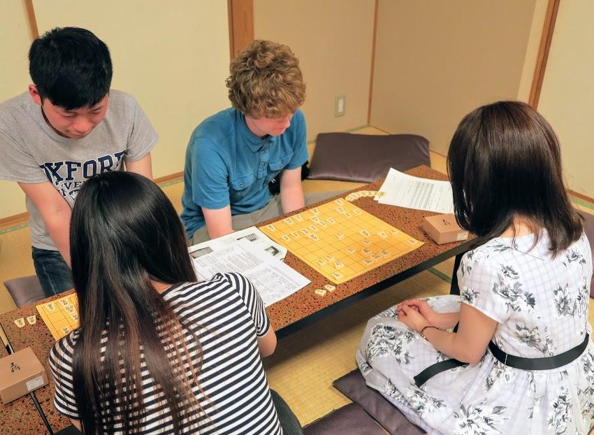 特技の一つとして和の文化を習得していれば、海外でのコミュニティーに便利