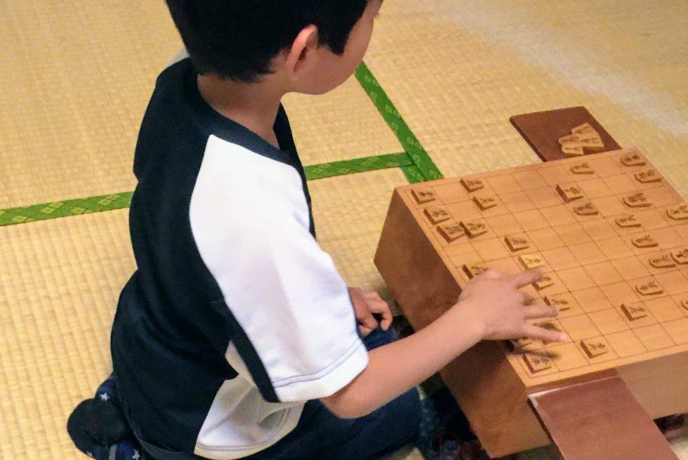ヒーローに追いつけるように、日々将棋の練習