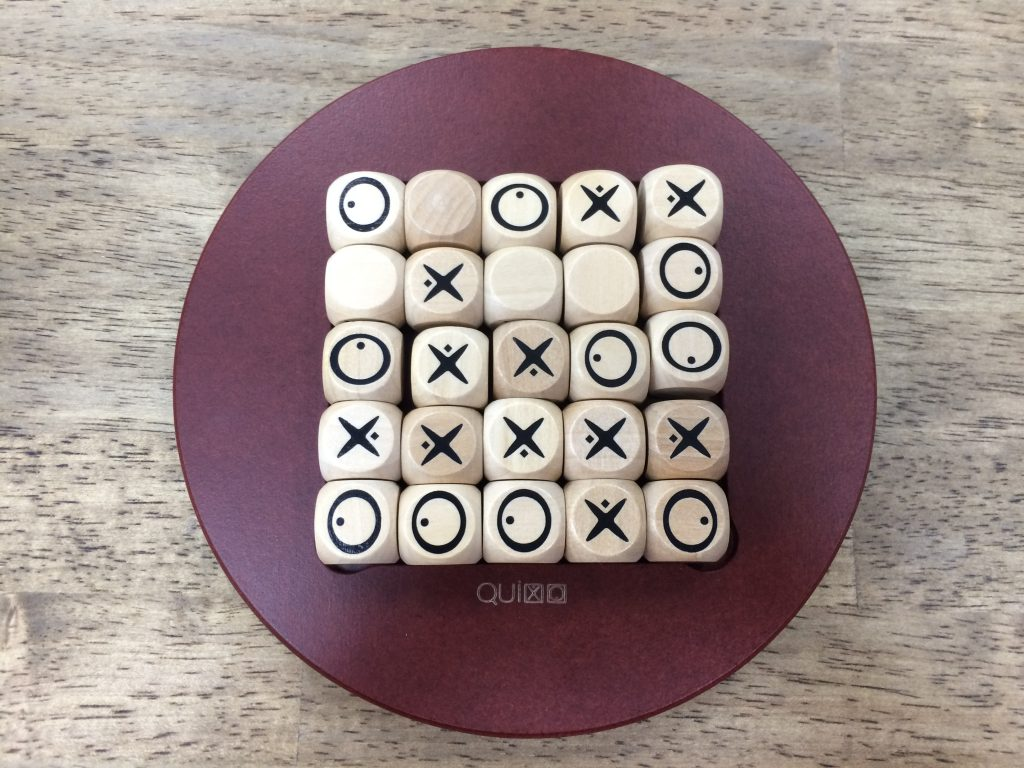 駒を押し入れた時にどのような形になるのか想像しよう。