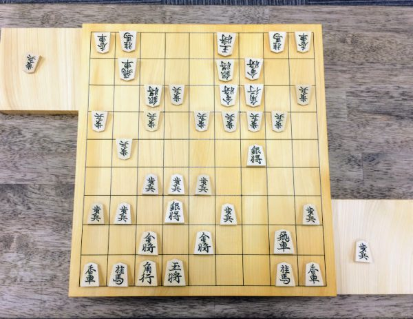 9×9の将棋盤を俯瞰して見るときは、四隅の香をチェック。