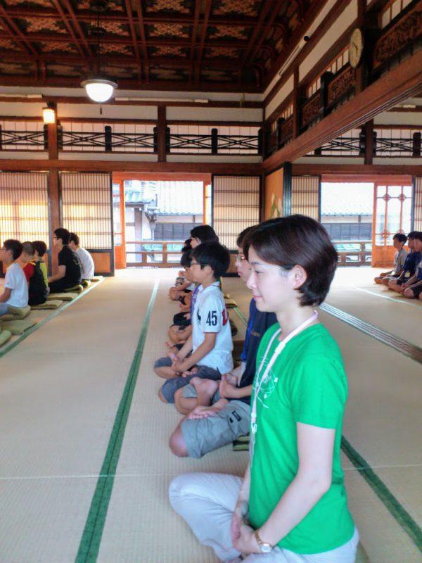 以前参加したお寺での将棋合宿の様子