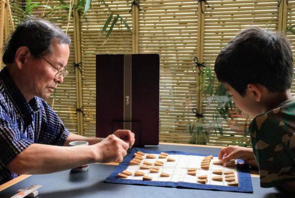 将棋はおじいちゃんとのコミュニケーションにぴったり
