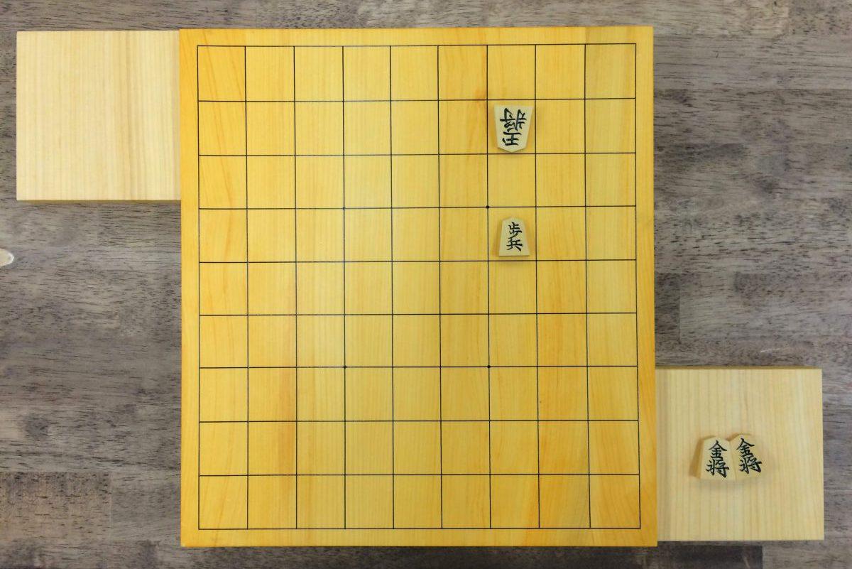 玉の逃げ場を増やし持ち駒を増やすことで1手詰の詰将棋が3手詰に