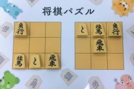 【初級】2018/08/15の将棋パズル