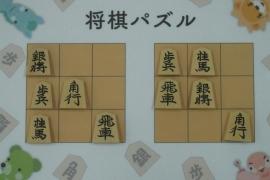 【初級】2018/08/8の将棋パズル
