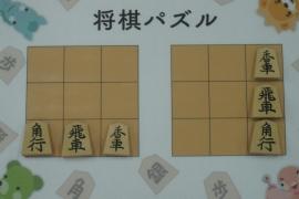 【初級】2018/09/1の将棋パズル