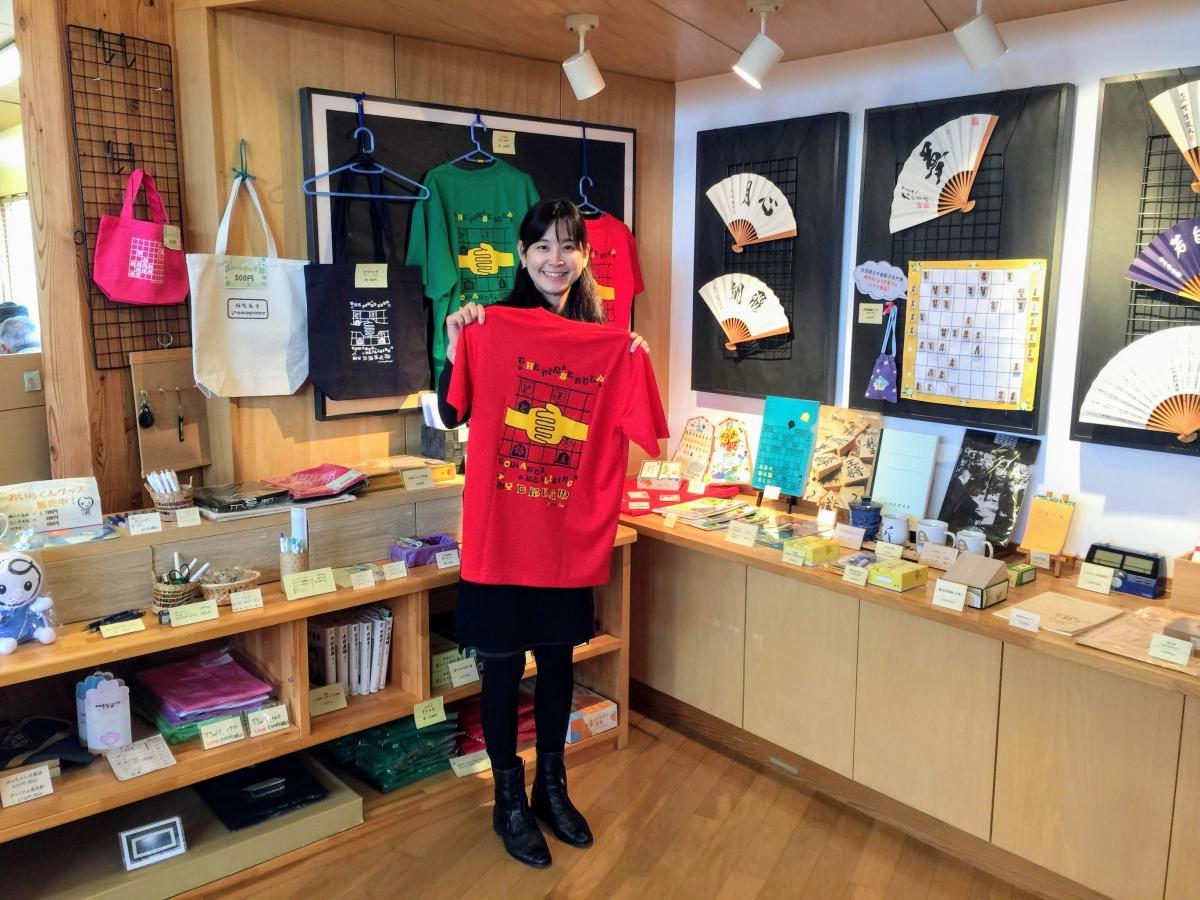 全国将棋まつりイベントで制作されたTシャツも販売されています