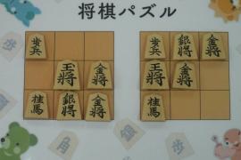 【初級】2018/10/15の将棋パズル