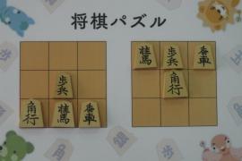 【初級】2018/11/10の将棋パズル