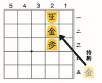 (図5)くっつけて「王手」