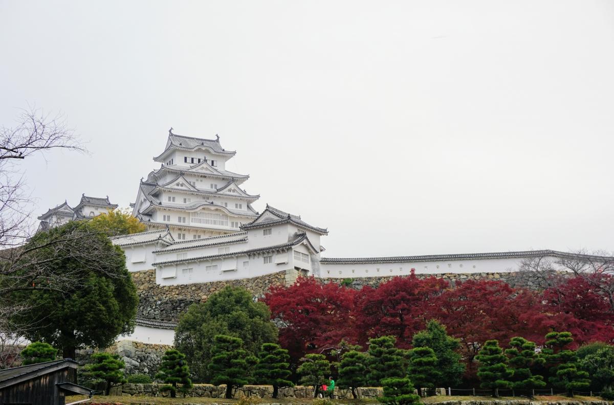 姫路市のシンボル姫路城