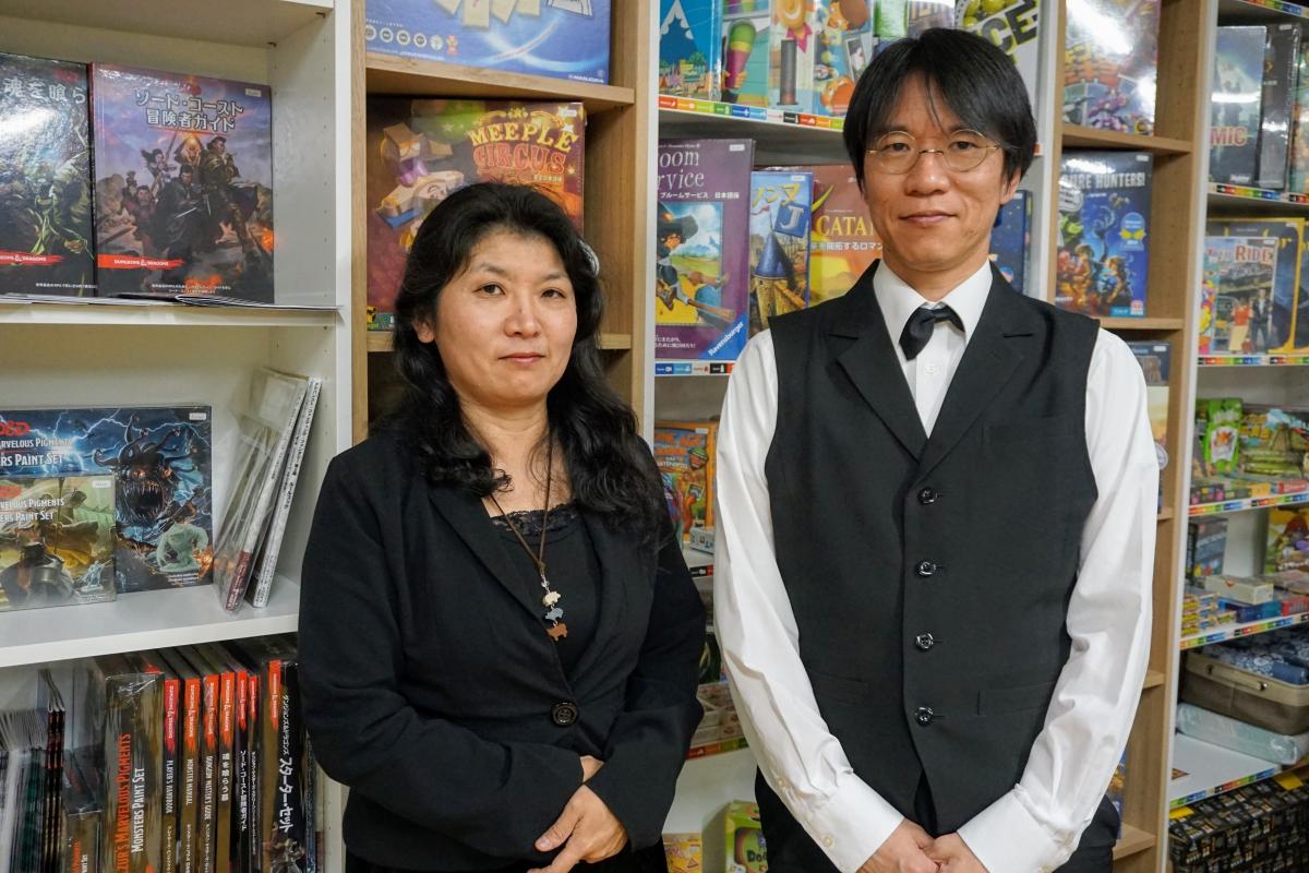 店主のkomaさんとオーナーのTokiさん