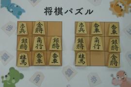 【中級】2019/2/10の将棋パズル