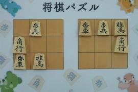 【初級】2019/3/11の将棋パズル