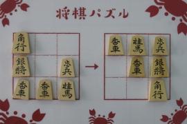 【初級】2019/4/30の将棋パズル