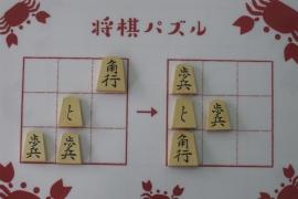 【初級】2019/6/7の将棋パズル