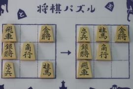 【中級】2019/7/6の将棋パズル