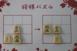 【初級】2019/7/14の将棋パズル