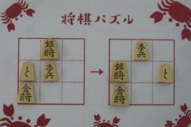 【初級】2019/8/21の将棋パズル