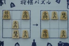 【初級】2019/8/30の将棋パズル