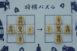 【中級】2019/9/2の将棋パズル