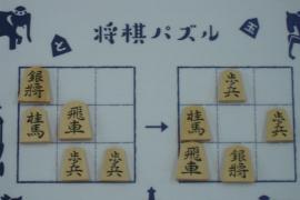 【中級】2019/11/4の将棋パズル