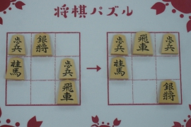 【初級】2019/11/23の将棋パズル