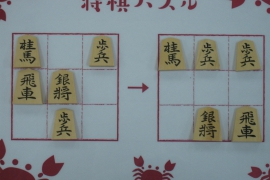 【初級】2020/1/6の将棋パズル