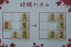 【初級】2020/2/14の将棋パズル