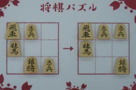 【初級】2020/2/16の将棋パズル
