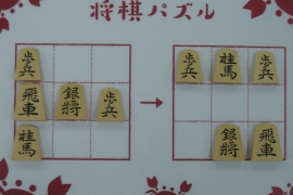 【初級】2020/2/23の将棋パズル
