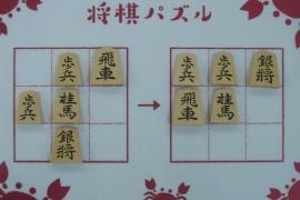 【初級】2020/2/25の将棋パズル