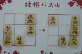 【初級】2020/2/27の将棋パズル