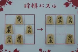 【初級】2020/2/28の将棋パズル