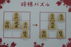 【初級】2020/3/7の将棋パズル