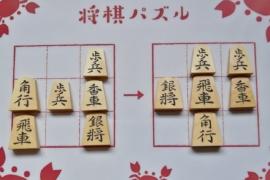 【初級】2020/5/29の将棋パズル
