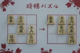 【初級】2020/6/20の将棋パズル
